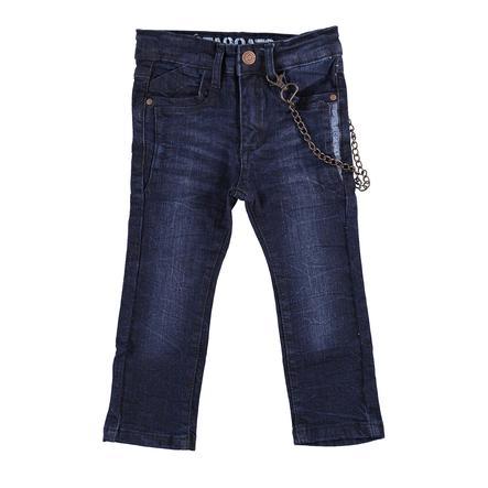 STACCATO Boys Jeans Skinny met ketting in donkerblauwe denim