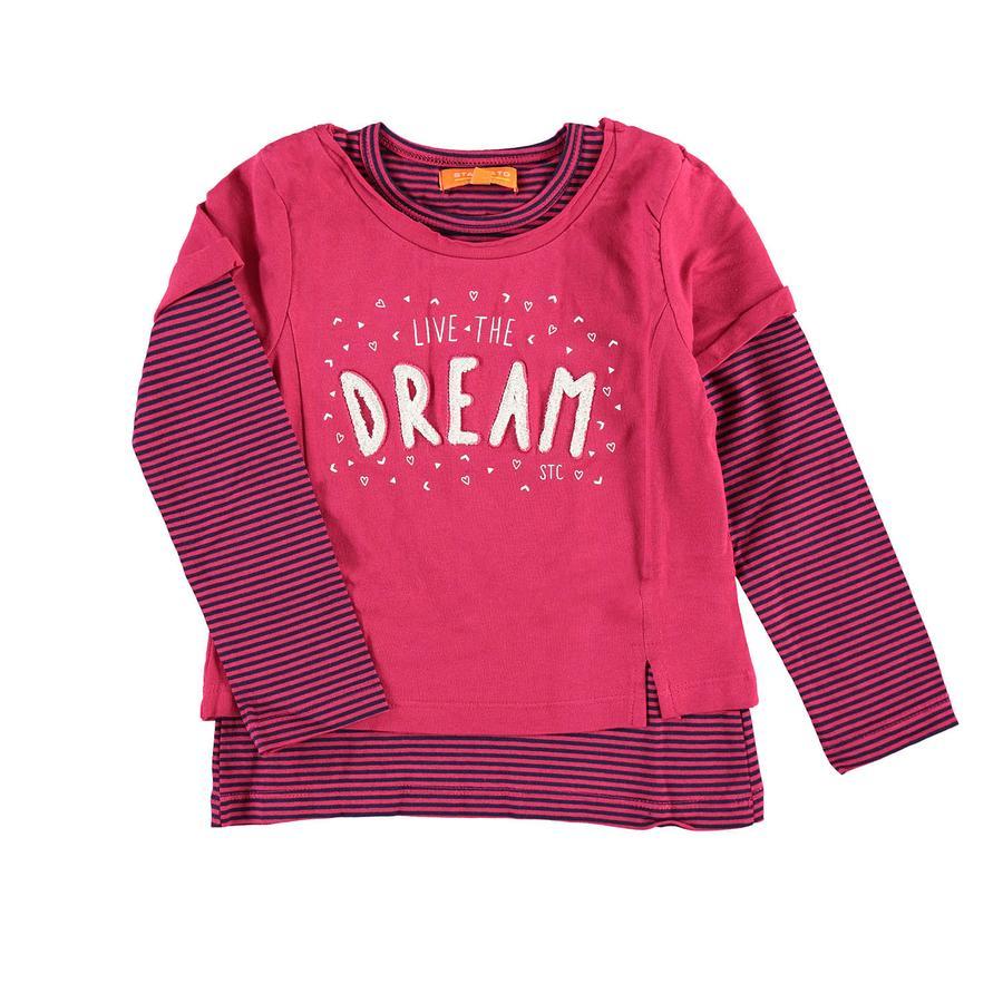 STACCATO Girl s shirt met lange mouwen rood