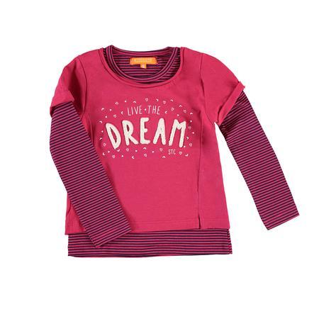 STACCATO Girl s shirt met lange mouwen donkerblauw