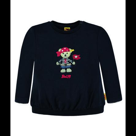 Steiff Girls Sweatshirt, marine mit Piratin
