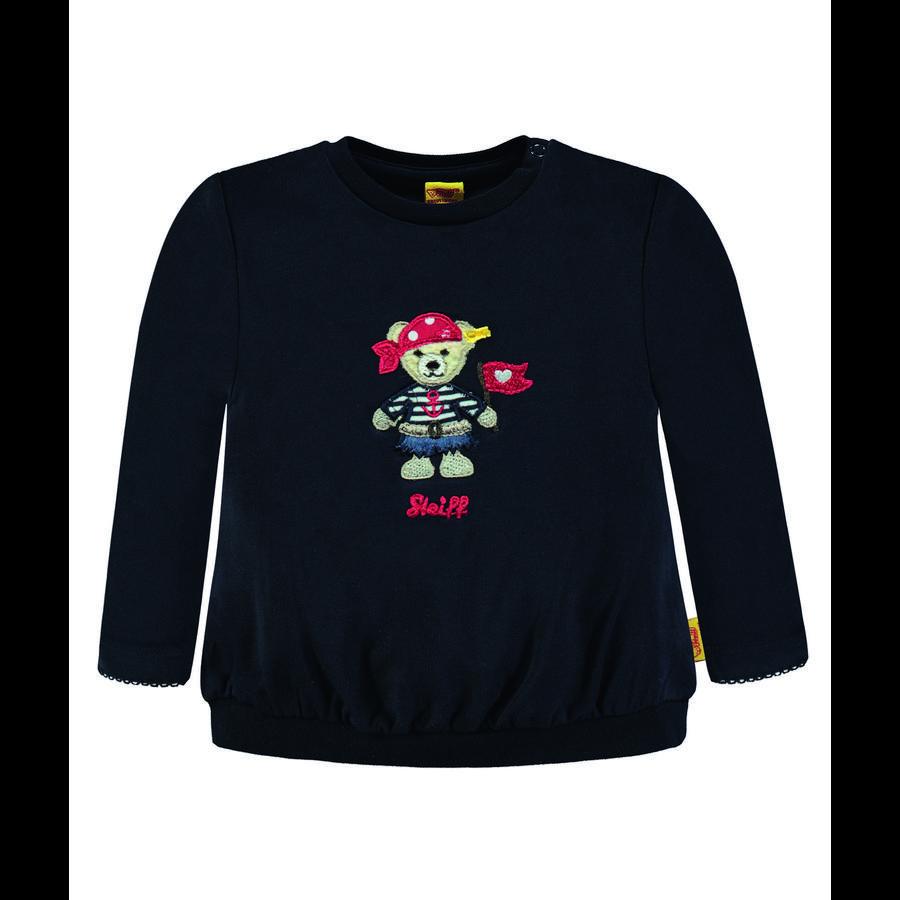 Steiff Girl s Sweatshirt, marine met piraat