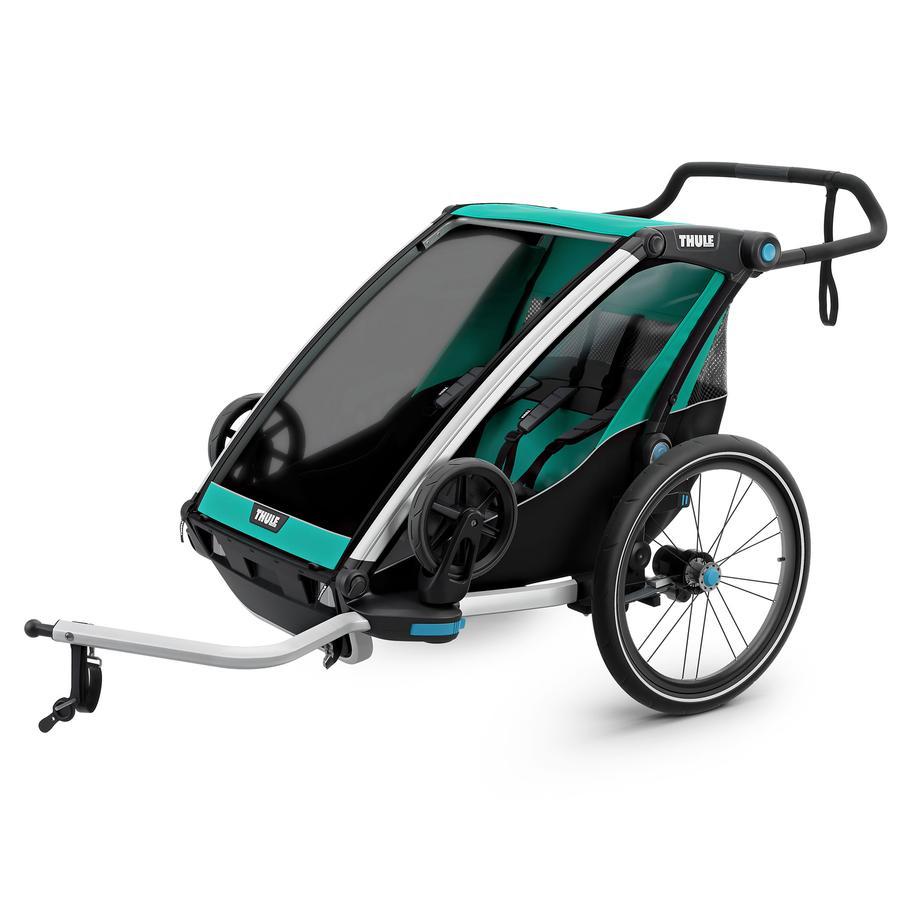 THULE Remorque de vélo enfant Chariot Lite 2 Bluegrass / noir