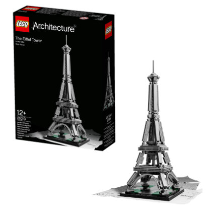 LEGO® Architecture - Torre Eiffel 21019