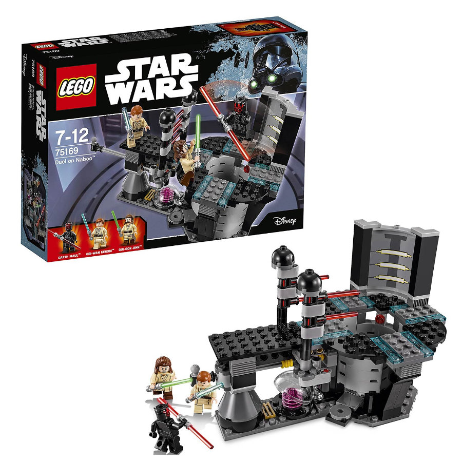 lego star wars duel on naboo 75169. Black Bedroom Furniture Sets. Home Design Ideas
