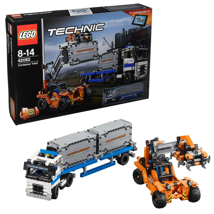 lego technic container transport. Black Bedroom Furniture Sets. Home Design Ideas