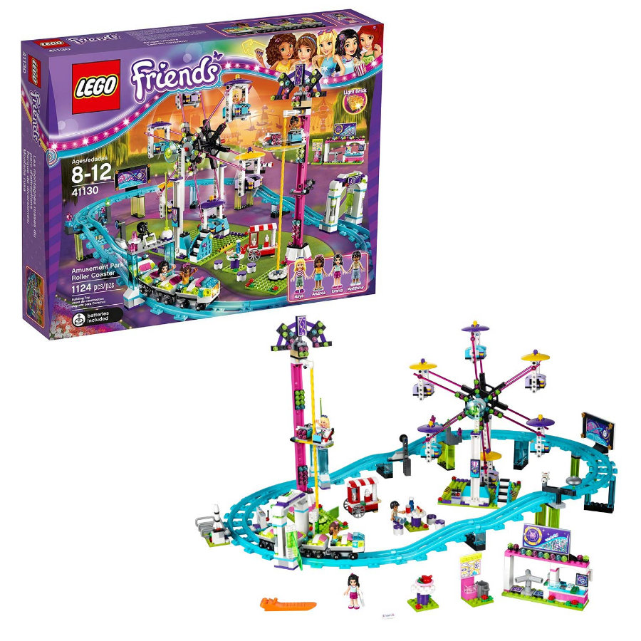 LEGO® Friends - Les montagnes russes du parc d'attractions 41130