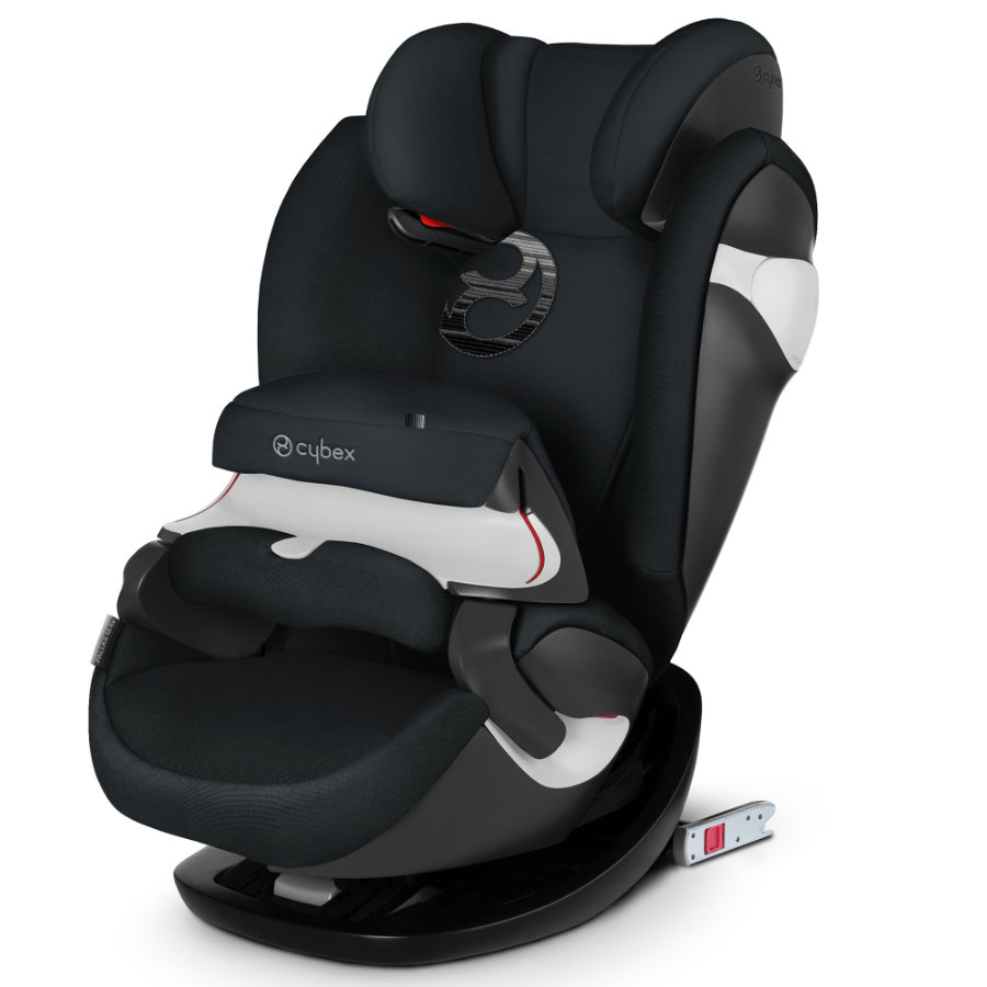 cybex GOLD Kindersitz Pallas M-fix Lavastone Black-black