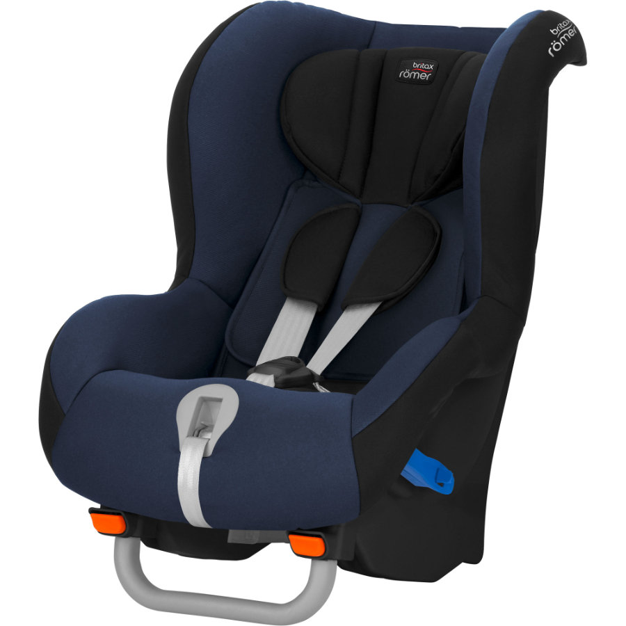 Britax Römer Silla de coche Max-Way Black Serie Moonlight azul