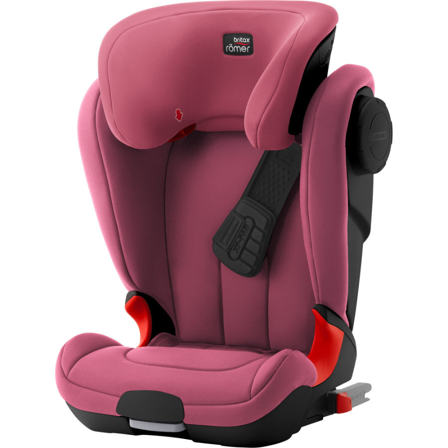 Britax Bilbarnstol Kidfix XP SICT Black Series Wine Rose