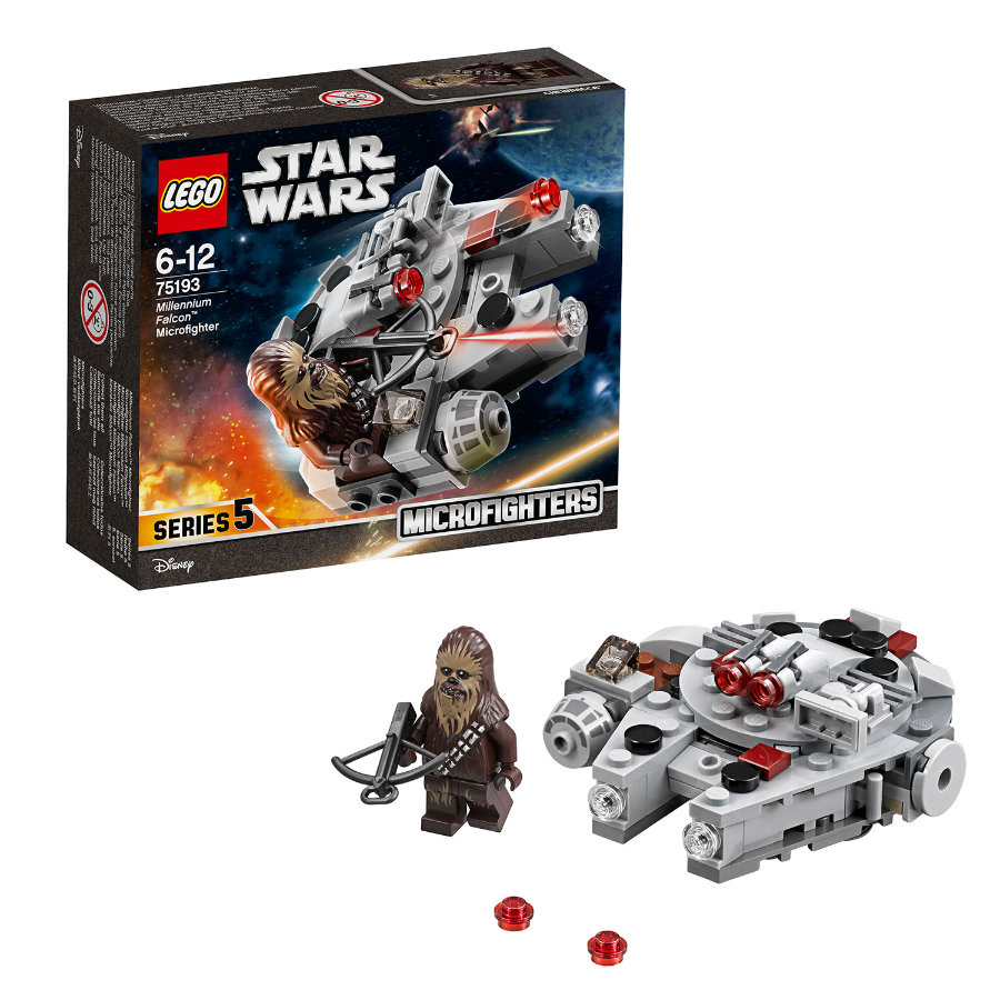 lego star wars millennium falcon microfighter 75193. Black Bedroom Furniture Sets. Home Design Ideas
