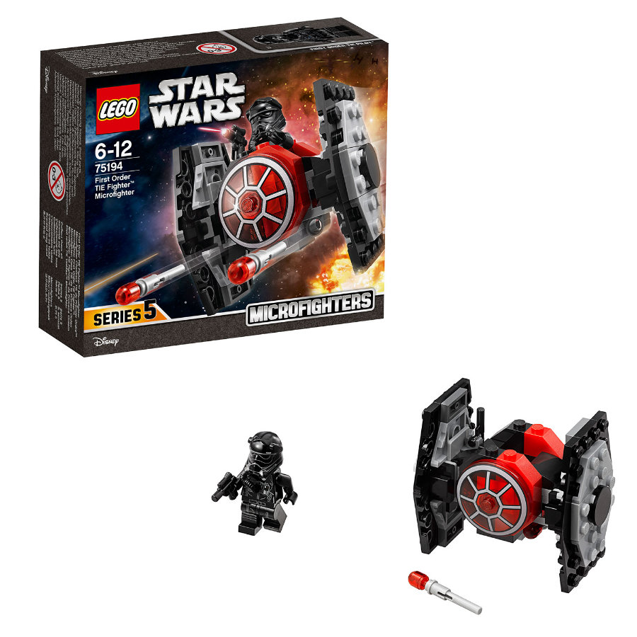LEGO® Star Wars™ First Order TIE Fighter™ Microfighter 75194 -