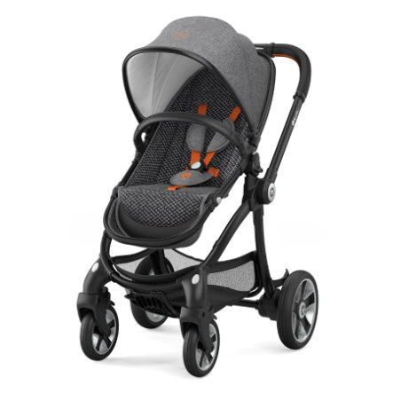 Kiddy Barnevogn Evostar 1 Heritage Collection Retro Charcoal