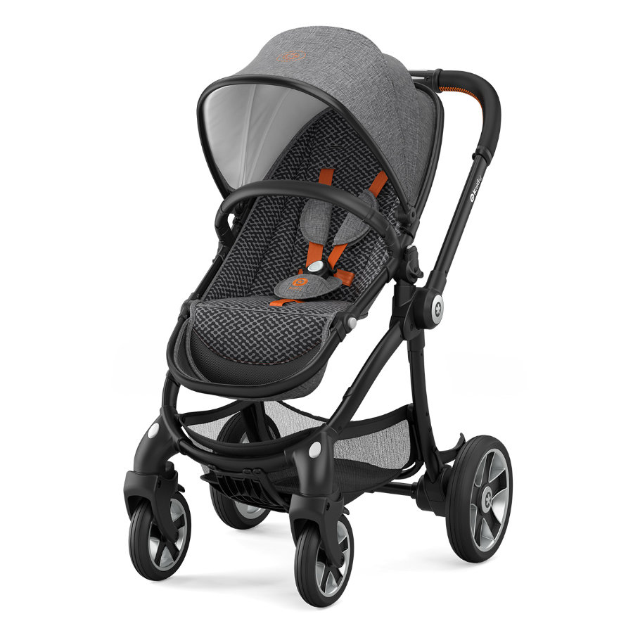 Kiddy Evostar 1 Heritage Collection 2018 Retro Charcoal