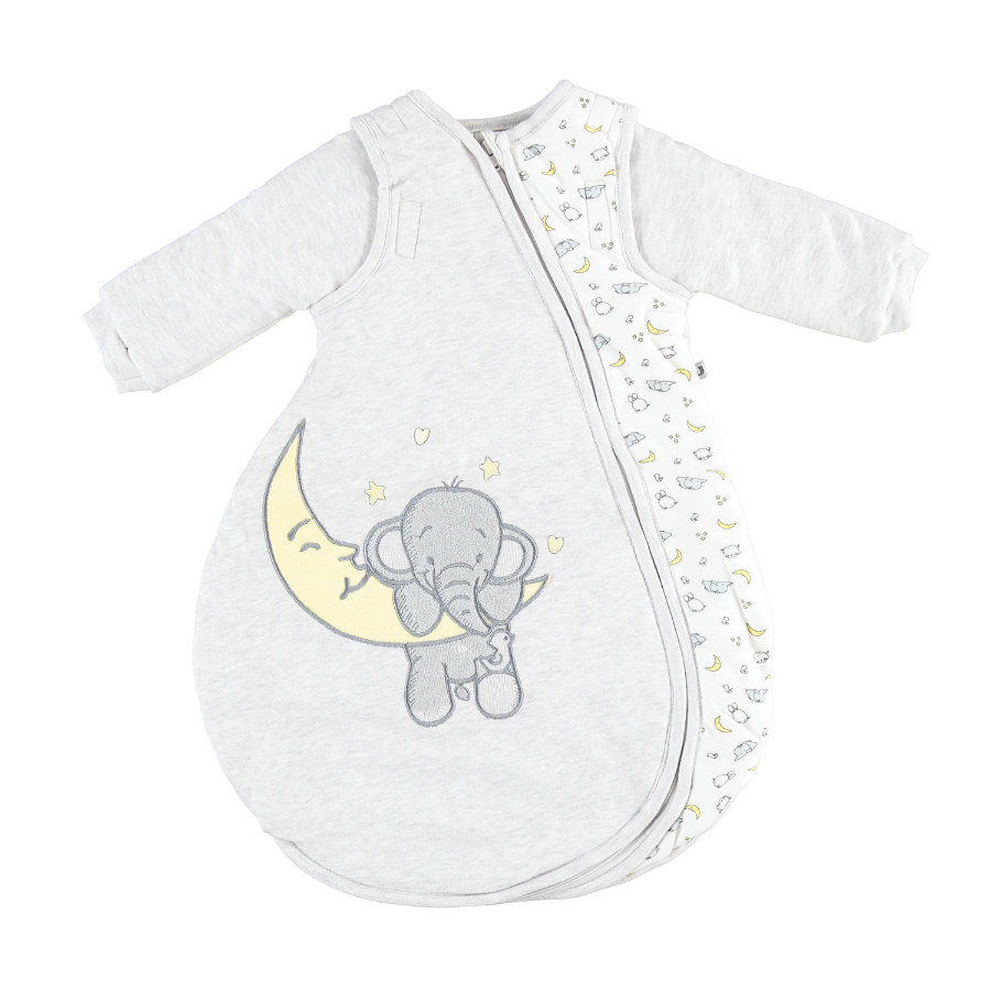 JACKY Sovpåse ELEPHANT ljusgrå