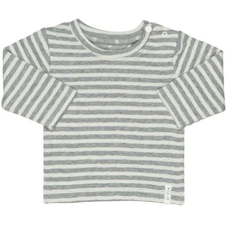 STACCATO Camisa de manga larga con rayas de color blanquecino