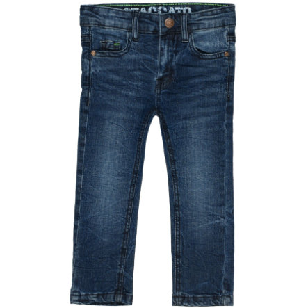 STACCATO Boys Skinny Vintage Jeans Regular Fit - Mid Blue