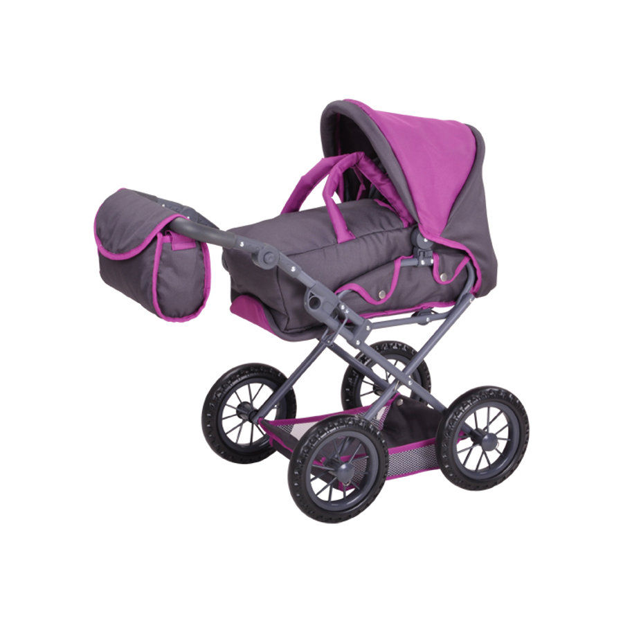 knorr® toys Puppenwagen Ruby - tec purple