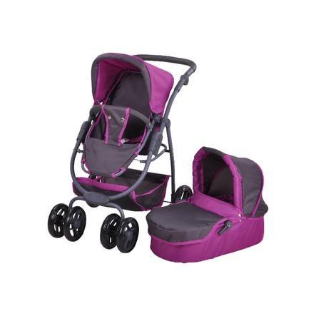 knorr® toys Passeggino bambola Coco - tec purple