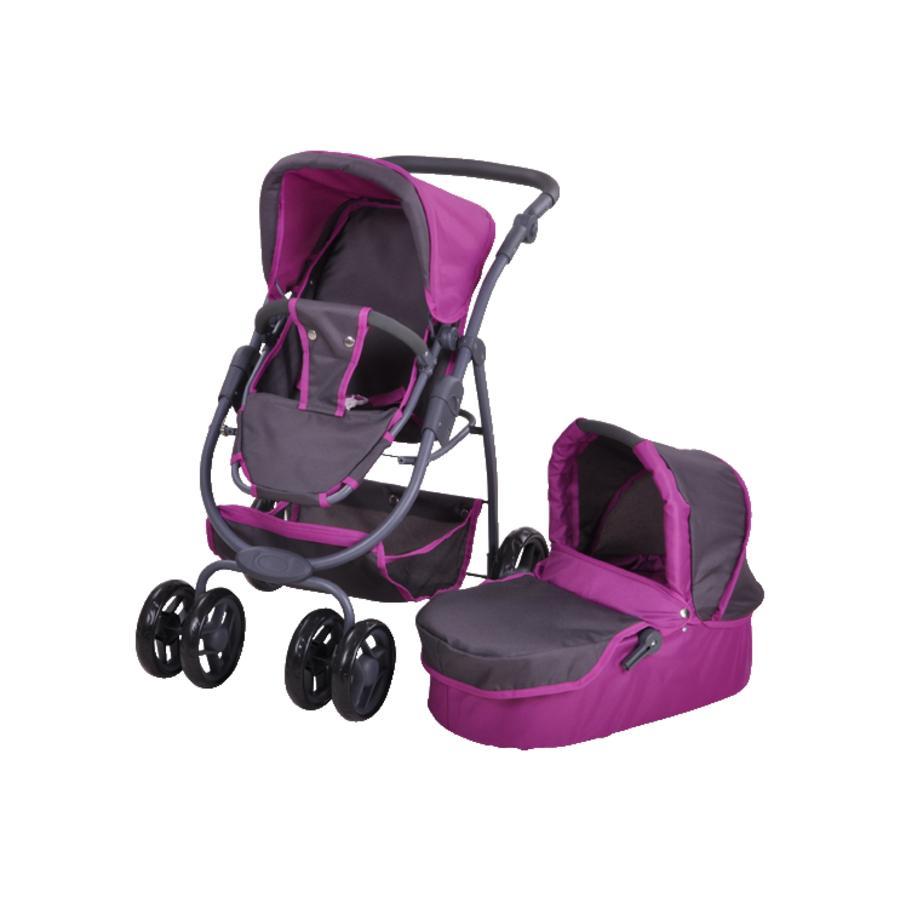Knorr® Toys Dukkevogn Coco - tec purple