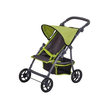 knorr® toys Passeggino leggero per bambole Liba - tec green