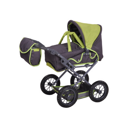 knorr® toys Poppenwagen Ruby - tec green
