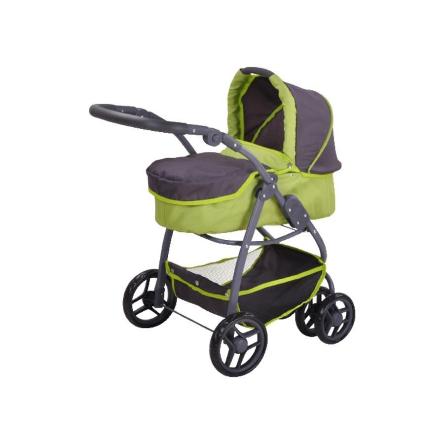 knorr® toys Kočárek pro panenky  Coco - tec green