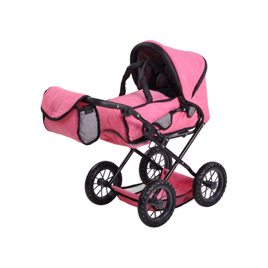 knorr® toys Passeggino bambola Ruby - Jeans pink