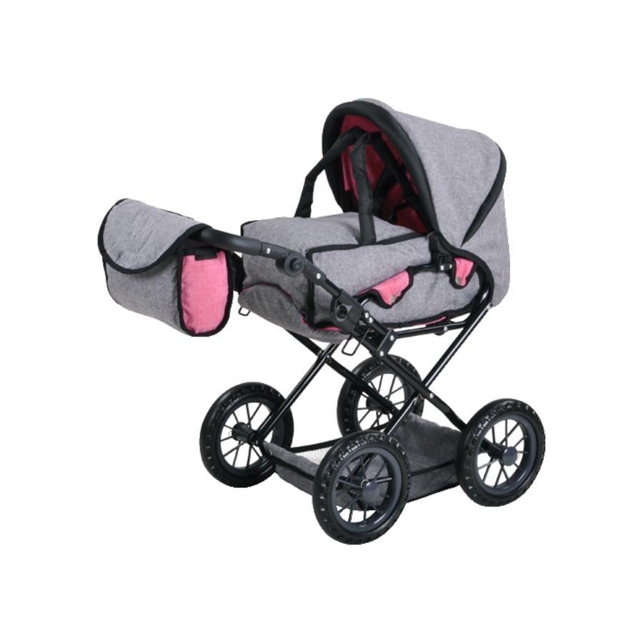 knorr® toys Cochecito de muñecas -  Ruby - Jeans grey