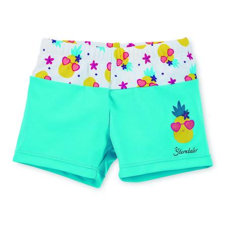Sterntaler Short de bain enfant ananas bleu/jaune