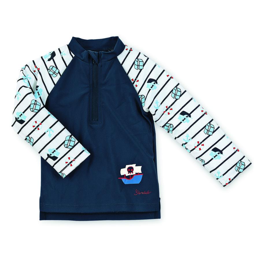 Sterntaler Boys koupací triko s dlouhým rukávem a UV ochranou, marine