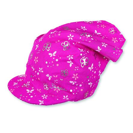 Sterntaler Girls Kopftuch mit Schirm magenta