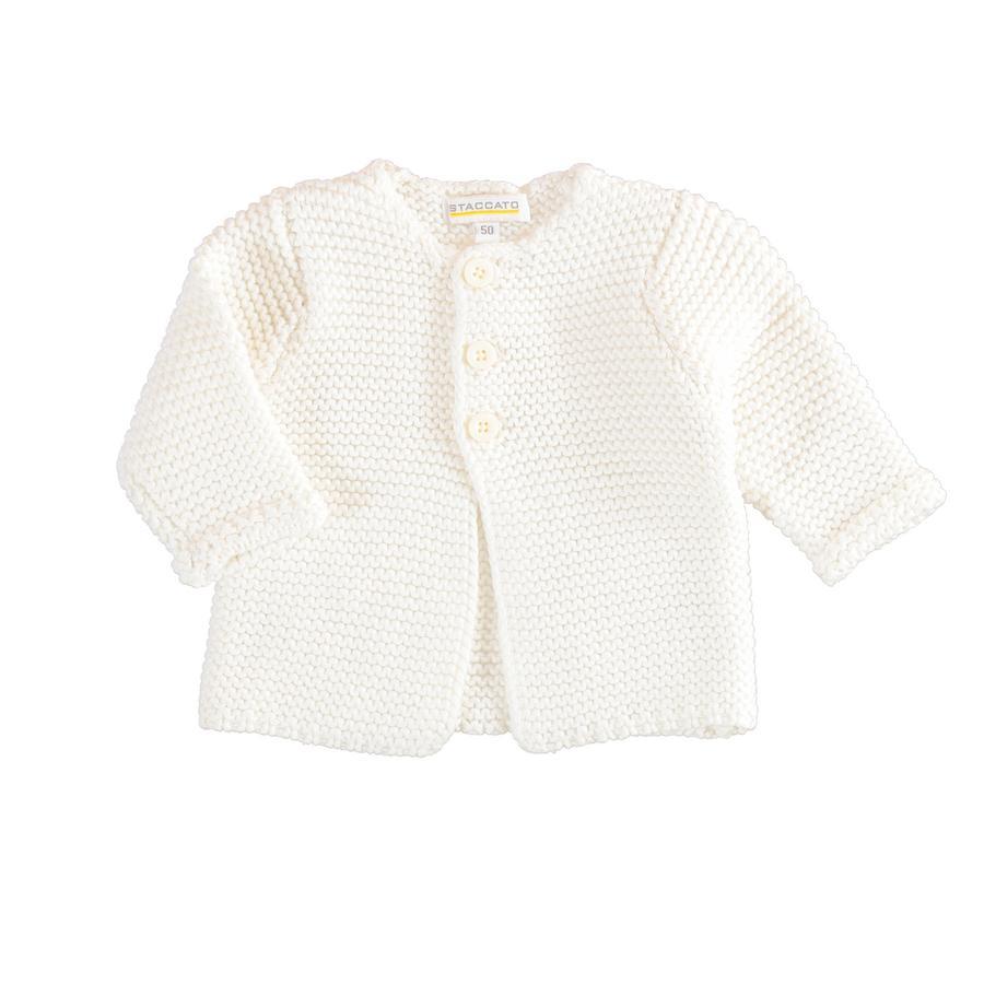 STACCATO Girl s cardigan bianco sporco