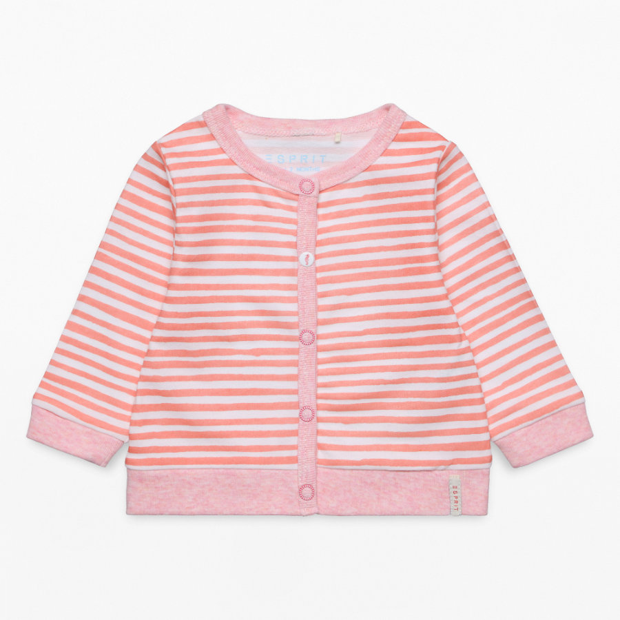 ESPRIT Girls Strickjacke rosewod
