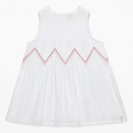 ESPRIT Girls Kleid off white