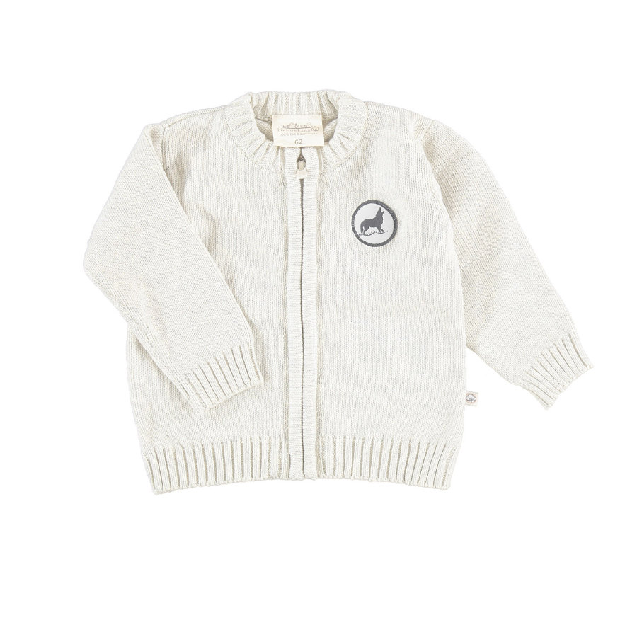 EBI & EBI Strickjacke Patch beige
