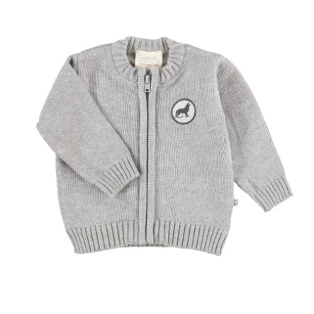 Cardigan EBI & EBI Patch gris
