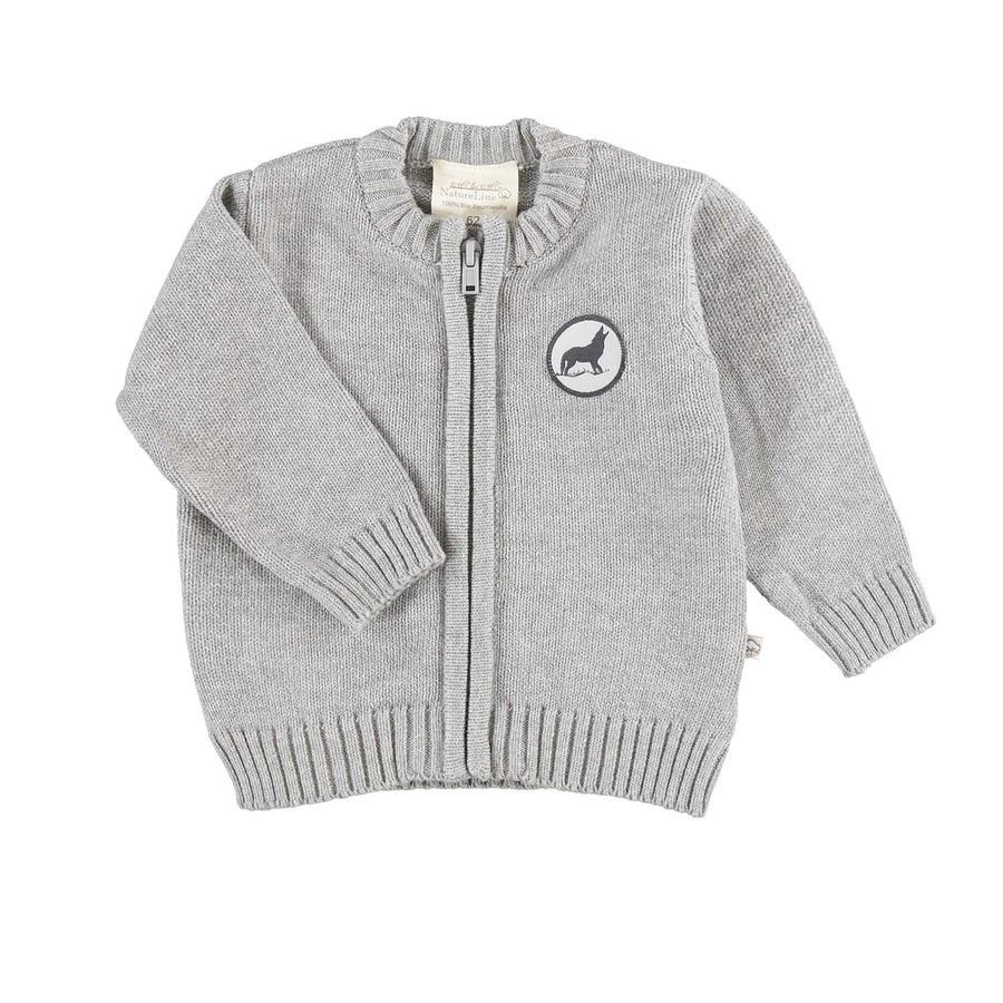 EBI & EBI Cardigan Patch grey