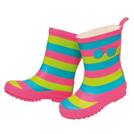 maximo Girl s botas de goma rayas amarillo báltico