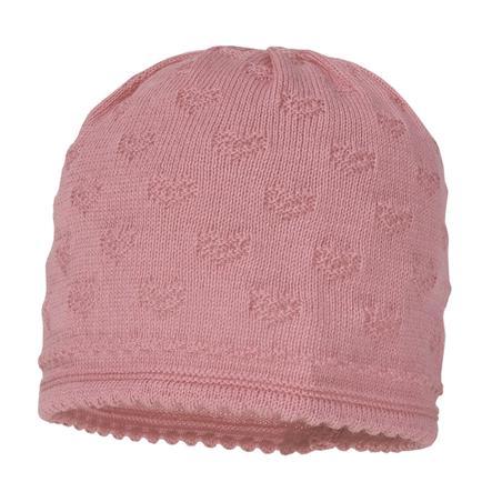 maximo Girl s sombrero de punto corazones rosa viejo