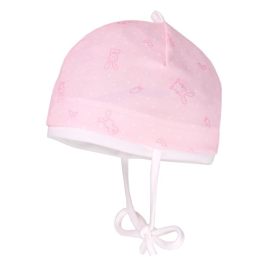 maximo Girl s cap konijnpoeder roze/roze konijnenpoeder