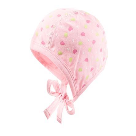 maximo Girls Mütze Herzen zartrosa/pink