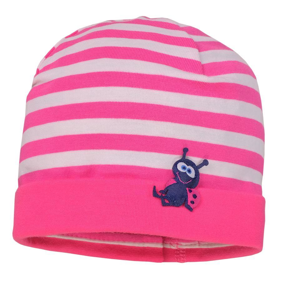 maximo Girls Mütze sexy pink/weiss