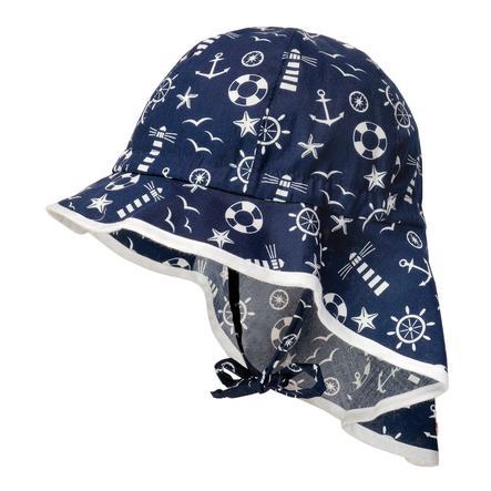 maximo Girl s tapa del escudo faro azul marino/blanco