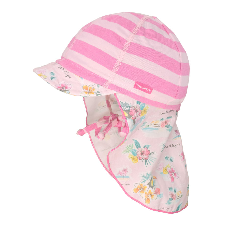 maximo Girls S child capuchon rose-melange-rose tendre