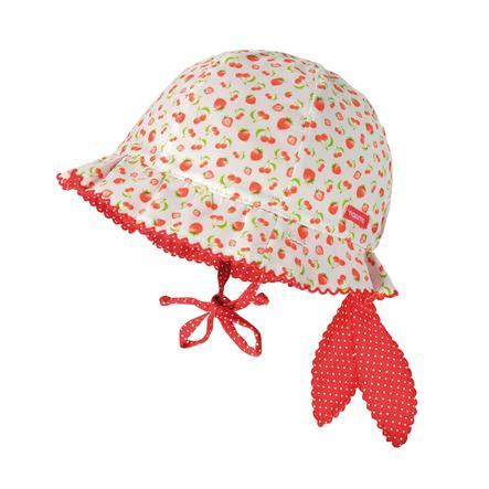 maximo Girl s Owoce kapelusza osłony czerwono-białe.