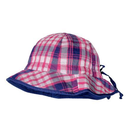 maximo Girl s tapa del escudo rosa navy-karo