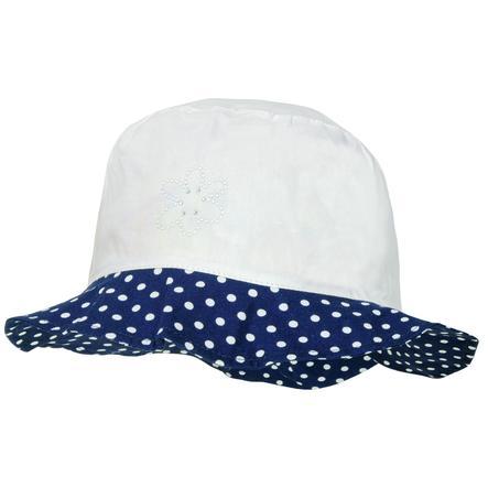 maximo Girls Hut arktikweiss/navy