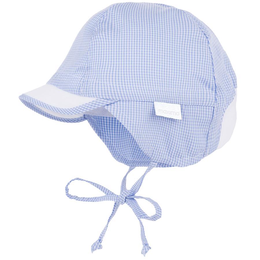 maximo Gorra de niño S child cap helio-chocolate blanco