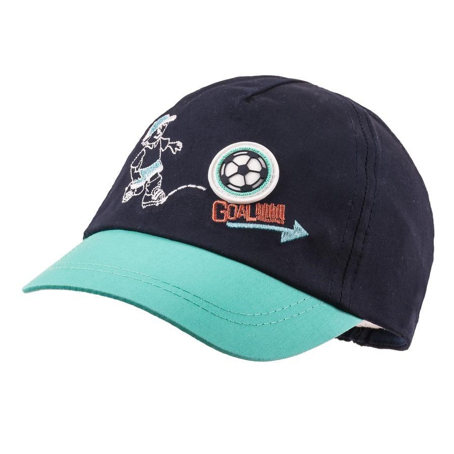 maximo Boys Cap Goal navy-aqua