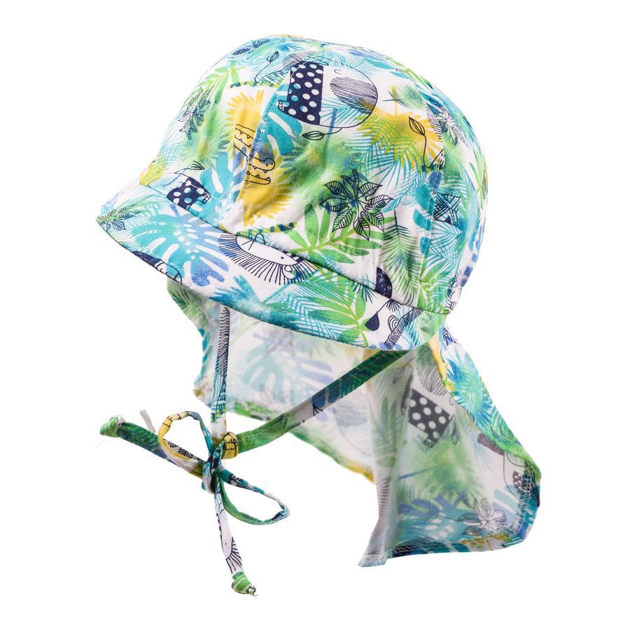 maximo Girls S child cap Safari světle zelená síra